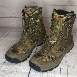 Danner camo boots waterproof